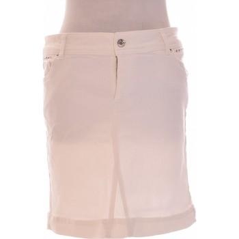 Vêtements Femme Jupes Grain De Malice Jupe Courte  42 - T4 - L/xl Blanc