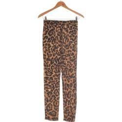 Vêtements Femme Pantalons Pretty Little Thing Pantalon Slim Femme  38 - T2 - M Noir
