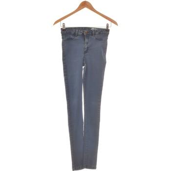 Vêtements Femme Jeans slim Bizzbee Pantalon Slim Femme  34 - T0 - Xs Bleu