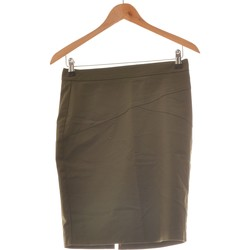 Vêtements Femme Jupes Camaieu Jupe Mi Longue  38 - T2 - M Vert
