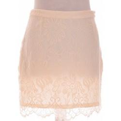 Vêtements Femme Jupes H&M Jupe Courte  38 - T2 - M Blanc