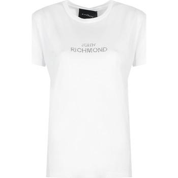 Vêtements Femme T-shirts manches courtes John Richmond  Blanc