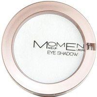Beauté Femme Fards à paupières & bases Moment Make-Up Moment - Mono Yeux 02 Blanc Irisé - 2gr Blanc
