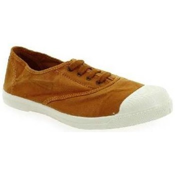Chaussures Baskets mode Natural World 102E - Toile Basse Femme MOUTARDE