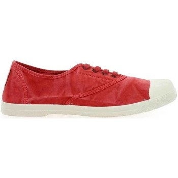 Chaussures Baskets mode Natural World 102E - Toile Basse Femme ROUGE