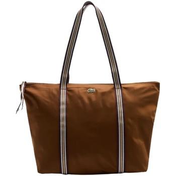 Sacs Femme Cabas / Sacs shopping Lacoste Sac cabas en toile  Ref 53611 H18 35*30*14 Marron