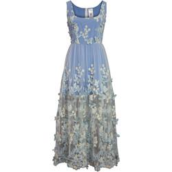 Vêtements Femme Robes longues Chic Star 86373 Bleu