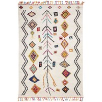 Maison & Déco Tapis Unamourdetapis Tapis design et moderne Ourika Mk 02 Multicolore 200x290 cm Multicolore