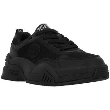 Chaussures Femme Baskets basses Versace Jeans Couture 71VA3SF6 Noir