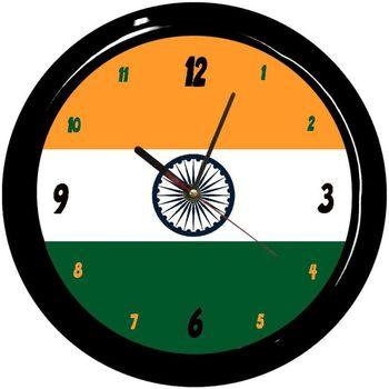 Maison & Déco Horloges Pays Du Monde Pendule ronde Inde Cbkreation Multicolore