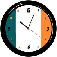Maison & Déco Horloges Pays Du Monde Pendule ronde Irlande Cbkreation Multicolore
