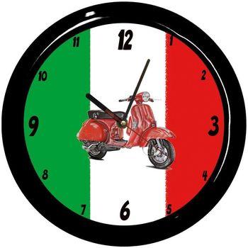 Maison & Déco Horloges Italie Pendule ronde  Cbkreation Multicolore