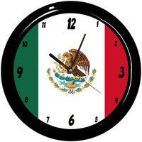 Maison & Déco Horloges Pays Du Monde Pendule ronde Mexique Cbkreation Multicolore