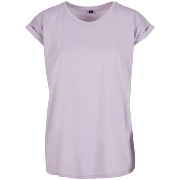 Vêtements Femme T-shirts manches courtes Build Your Brand Extended Lilas