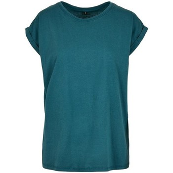 Vêtements Femme T-shirts manches courtes Build Your Brand Extended Bleu sarcelle