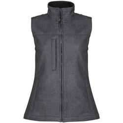 Vêtements Femme Vestes Regatta RG155 Gris foncé/noir chiné