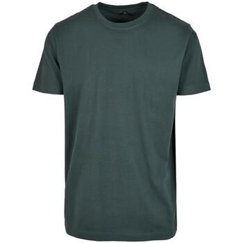 Vêtements Homme T-shirts manches courtes Build Your Brand BY004 Vert bouteille