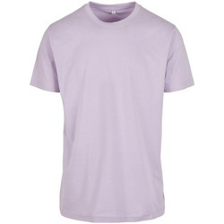 Vêtements Homme T-shirts manches courtes Build Your Brand BY004 Lilas