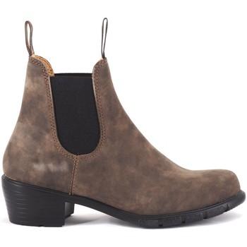 Chaussures Femme Boots Blundstone 1677 Lady Heel Rustic Brown El Side Boot Marron Marron