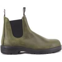 Chaussures Homme Boots Blundstone 2059 Cuir Vert Fonc Vert Vert