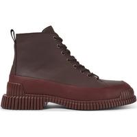 Chaussures Homme Bottes ville Camper Bottines cuir Pix bordeaux