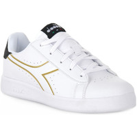 Chaussures Fille Baskets basses Diadora 2296 GAME P PS GIRL Bianco