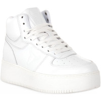 Chaussures Femme Baskets montantes Windsor Smith WHITE THRIVE Bianco