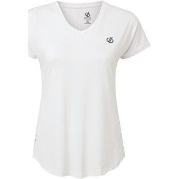Vêtements Femme T-shirts manches courtes Dare 2b  Blanc