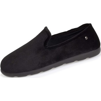 Chaussures Homme Chaussons Isotoner Chaussons charentaises confort Noir