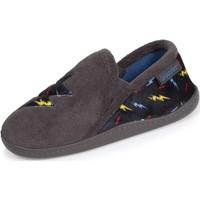 Chaussures Garçon Chaussons Isotoner Chaussons mocassins multicolores Gris