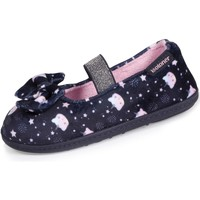 Chaussures Fille Chaussons Isotoner Chaussons ballerines 3d Multicolor