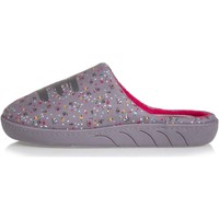 Chaussures Fille Chaussons Isotoner Chaussons mules fleuries Multicolor