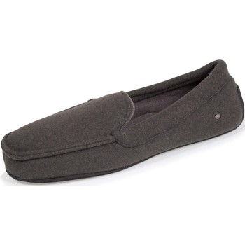 Chaussures Homme Chaussons Isotoner Chaussons mocassins chic Gris Chiné