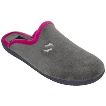 Chaussures Femme Chaussons Cbp - Conbuenpie  Gris