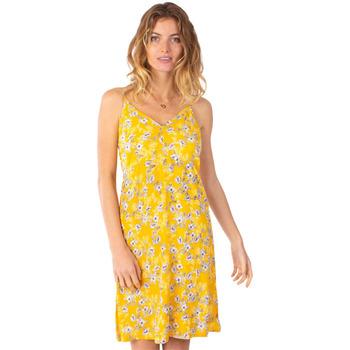 Vêtements Femme Robes courtes Coton Du Monde Bea 8 Jaune