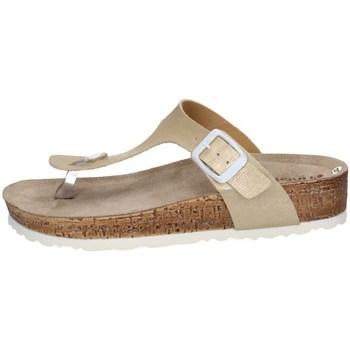 Chaussures Femme Tongs Inblu NM 20 Argenté