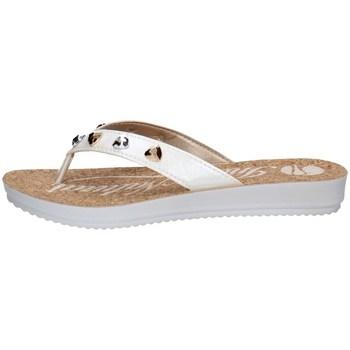 Chaussures Femme Tongs Inblu BM 53 Blanc