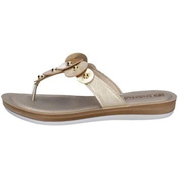 Chaussures Femme Tongs Inblu BA 33 Argenté
