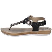 Chaussures Femme Tongs Inblu BA 31 Noir