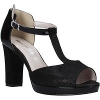 Chaussures Femme Sandales et Nu-pieds Valleverde 45550 Noir