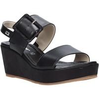 Chaussures Femme Sandales et Nu-pieds Valleverde 32213 Noir