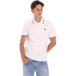 Vêtements Homme Polos manches courtes Ciesse Piumini 215CPMT21423 C2510X Blanc