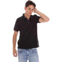Vêtements Homme Polos manches courtes Ciesse Piumini 215CPMT21454 C0530X Noir