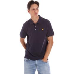 Vêtements Homme Polos manches courtes Ciesse Piumini 215CPMT21424 C0530X Bleu