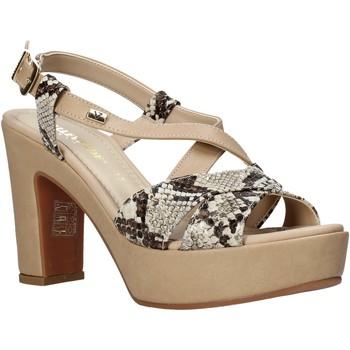 Chaussures Femme Sandales et Nu-pieds Valleverde 32520 Beige