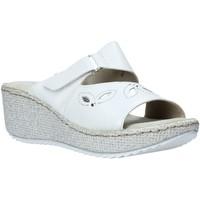 Chaussures Femme Mules Valleverde 20221 Blanc
