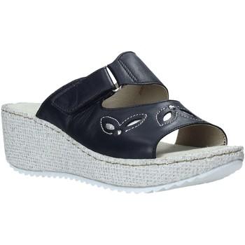 Chaussures Femme Mules Valleverde 20221 Bleu