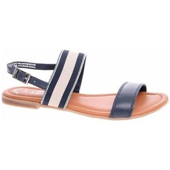Chaussures Femme Sandales et Nu-pieds S.Oliver 552811122805 Noir, Beige, Marron