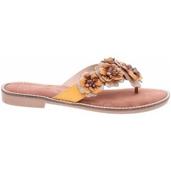 Chaussures Femme Tongs Marco Tozzi 222710826674 Jaune