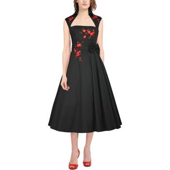 Vêtements Femme Robes longues Chic Star 86430 Noir